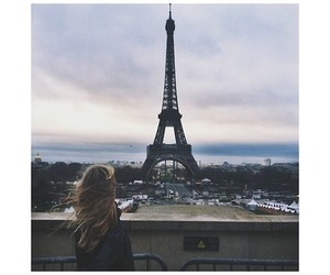 paris, girl, and france image