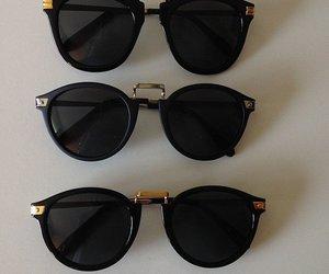 girl, sunglasses, and swag image