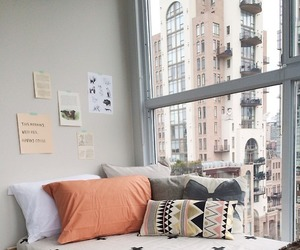 cozy, lounge, and window view image