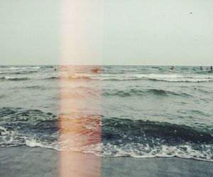 sea, photography, and beach image