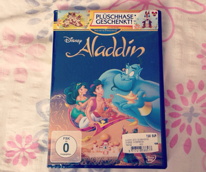 aladdin, dvd, and heart image