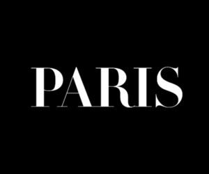 paris, black, and text image