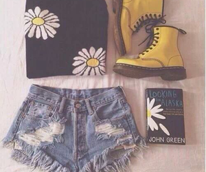 fashion, outfit, and book image