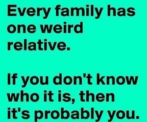 family, funny, and weird image