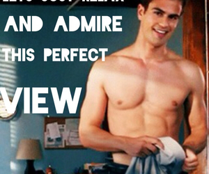 abs, theo james, and admire image