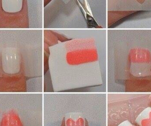 dyi, nails, and heart image