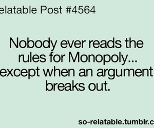 monopoly, rules, and funny image