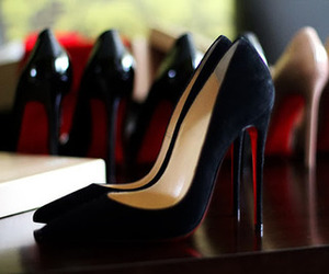 shoes, style, and black image