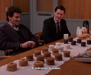 doughnuts, Twin Peaks, and Dream image