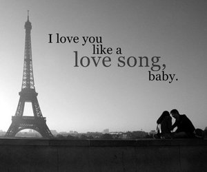 couple, I Love You, and paris image