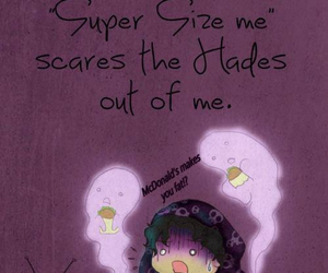 horror, nico di angelo, and super size me image