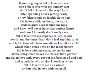 Me Quotes In If With You Love Fall