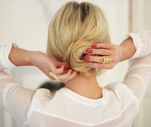 fashion, nails, and hair image