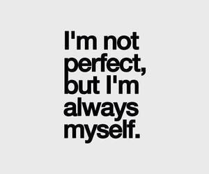 quotes, myself, and perfect image