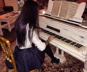 baby, Hottie, and piano image