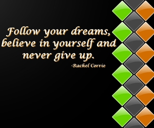 believe, dreams, and follow image
