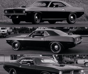 american, cars, and cuda image