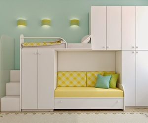 bedrooms, functional beds, and bed designs image