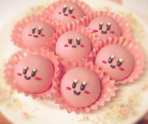 kirby, cute, and food image