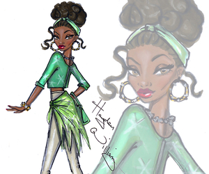 hayden williams, tiana, and disney image