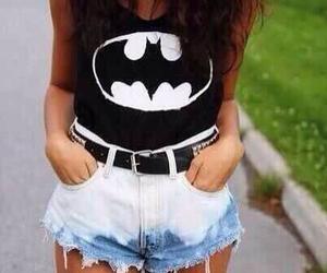 batman, fashion, and shorts image