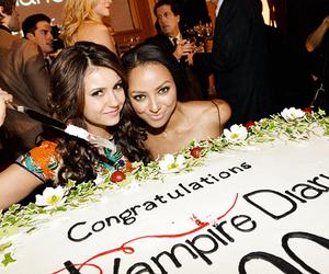 Nina Dobrev, kat graham, and the vampire diaries image