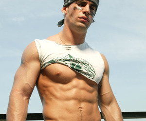 hot guys, hunks, and muscle image
