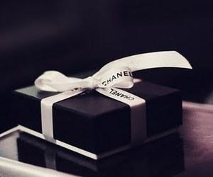 chanel, gift, and box image