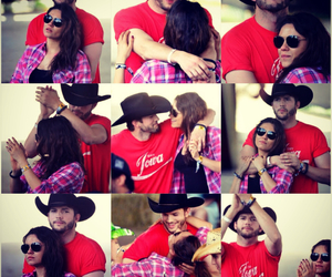 ashton kutcher, couple, and Mila Kunis image