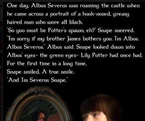 harry potter, snape, and severus image