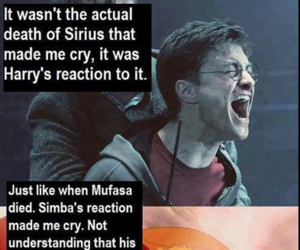 death, harry potter, and simba image