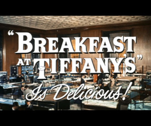 audrey hepburn, Breakfast at Tiffany's, and delicious image