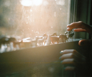 window, toys, and light image