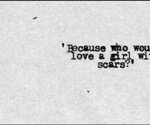 scars, love, and sad image