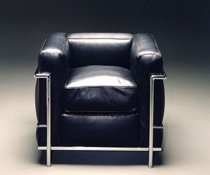 chair, furniture, and le corbusier image