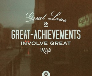 life, achievement, and love image
