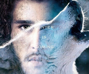 ghost, stark, and wolf image