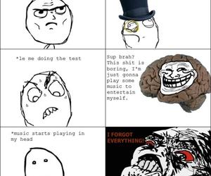 comic, exam, and funny image