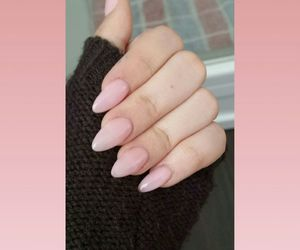baby pink, fingers, and gel image