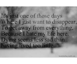 quote and depressed image