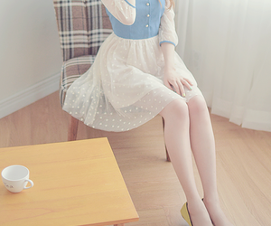 asian, k-fashion, and cute image