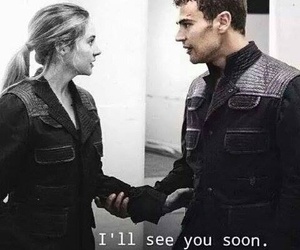 divergent and four and tris image