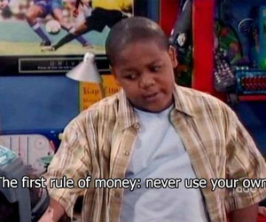 money, funny, and quotes image