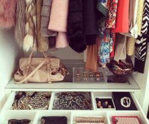 closet, fashion, and organization image