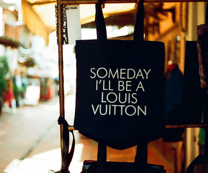 bag, Louis Vuitton, and text image