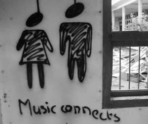 music, people, and connect image