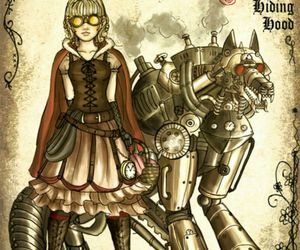 fairytale, steampunk, and mechanical image