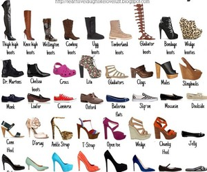shoes, heels, and dictionary image