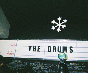 the drums, indie, and hipster image