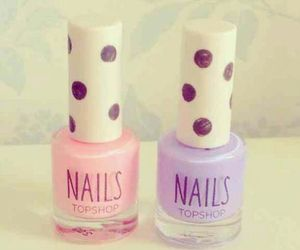 nails, pretty, and rosy image